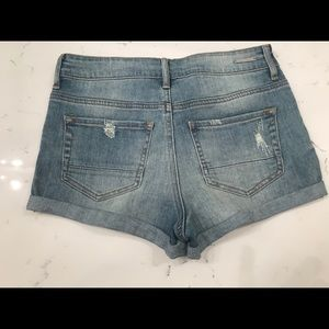 PAC sun Kendall and Kylie jeans shorts.